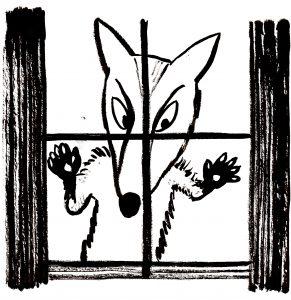 Wolf at the Window ©BridgetMarzo